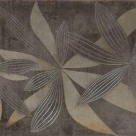 INSERTO GLAMUR FLOWER GRAY 90531 25*40
